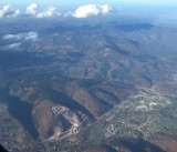 Au-dessus de la Vallée de la Bruche - la carrière de Hersbach
