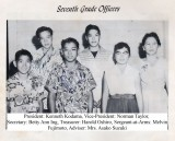 7th Grade Officers Kaimuki Intermediate