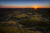 Horseshoe Canyon Sunrise