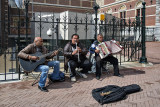 Street band at the Rijksmuseum