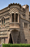 Architecture of  Colònia Güell