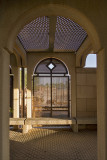 Al Sheeh Garden, shadowed seating
