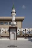 Courtyard minaret