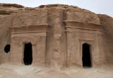 Qasr al-Bint, double tombs