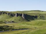 Volcanic scenery, drive to Reykjavík (7)
