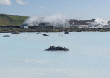 The famous Blue Lagoon
