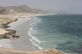 Al Mughsail, beach