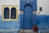 Rabat, Kasbah, two cats