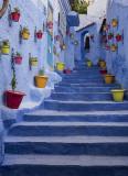 Chefchaouen, stairway