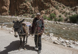 Todgha Gorge, the Berber taxi