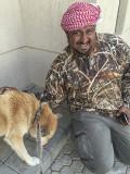 Sahraa and admirer