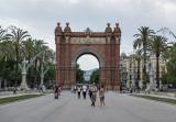 Triumphal arch, Parc de la Ciutadella