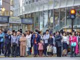 Waiting in Shibuya