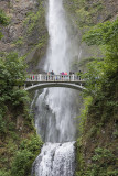 Multnomah Falls up close