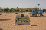 King Abdullah Park, giant sandbox