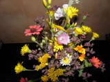 Wildflowers picked in the countryside  surrounding SMA
