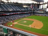 Greetings from the cheap seats at Chase Field, Phoenix.