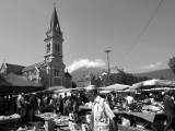 Place Saint Bruno, Grenoble downtown.