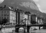 Grenoble downtown