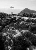 Often the cross is placed on the top of mountains.