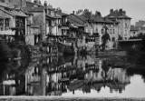 Aurillac; Jourdanne River;  Auvergne province (1979)