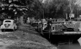 'Péniche' in the Canal du Midi; Toulouse (in the 1990s)