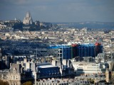Paris; some views from Tour Zamanski; on streets (October 2014)