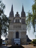 Angers; Saint-Maurice (12th Century) cathedral.