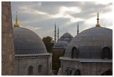 Aya Sofia and Blue Mosque