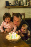 March birthdays and Oma visit