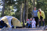 Johanna and Nells 1st camping trip