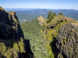 volcanic gorge