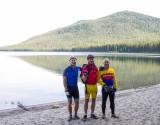 The brothers at Cultus Lake