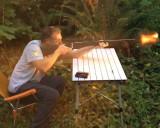 Playing with Carl's gun