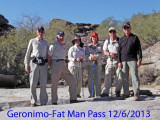 Geronimo - Fat Man Pass 12/6/2013