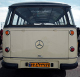 Vintage Benz (back Side)