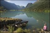 Glorious morning at lake Olden......