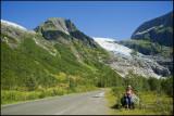 Under Bøyabreen glacier,Fjærland........
