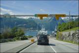 The ferry to Vangsnes.......
