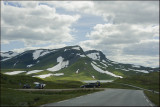 Mountain in Vik,on route back to Bergen..