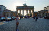 Eva at Brandenburger Tor.......