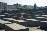 Memorial honouring the millions of jews killed in WWII,Berlin..
