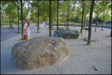 Decorated stones, Mauerpark.......