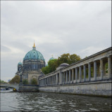 Lustgarten and Berliner Dom from a riverboat....