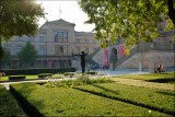 Lustgarten and Neues Museum.........
