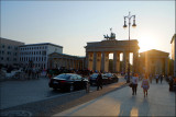 Evening light on Brandenburger Tor......
