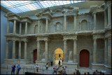 Roman gate of Miletus, reconstructed in Pergamon Museum, Berlin