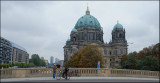 Posing in front of the Berliner Dom......