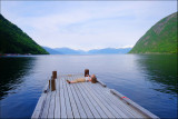 36. Relaxing by the Sognefjord.......
