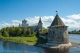 Pskov's riverside Kremlin (fortress)